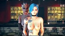 3D-(mass effect, league of legends, live is str...