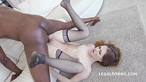 Sexy slut Ginger Fox gets non stop gapes and 10...