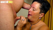 AMATEUR EURO - BBW German Wife Spend Her Night With Horny Hubby