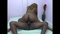 Big assed babe Summer Loveness pose doggy as her pussy get nailed