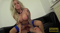 PASCALSSUBSLUTS - British Blonde Louise Lee Submitted Hard