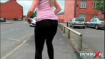 PornXN Big ass babe pissing in public on the street - 69VClub.Com