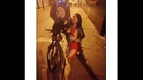 Sex in the street with a cyclist .. Luna Centro Lima Wilson y Uruguay .. 991705708