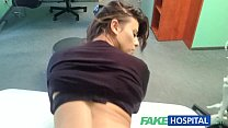 Fake Hospital Sexual treatment turns gorgeous busty patient moans of pain into p video