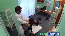 Fake Hospital Sexual treatment turns gorgeous busty patient moans of pain into p & sunylione thumbnail