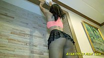 Sweet And Obedient Asian Floor Cleaner [아시아 오랄섹스 asian blowjob]