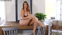 British Big Ass Babe Paige Turnah Teases In Nyl...