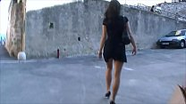 BDSM model Alex Zothberg walking in Antibes - japanese pantyhose upskirt thumbnail