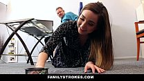 FamilyStrokes - Part Time Step Daughter Becomes...