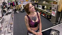 XXX PAWN - Tattooed Babe Harlow Harrison Gives ...