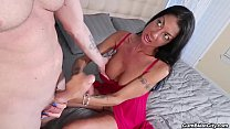 cumblast-Busty milf makes a cock explode with cum Preview