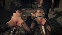 Kinky sex game and bondage sex for two slaves r...'s Thumb