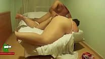 He puts the fingers inside the fat ass and then fucks her on bed ADR0563