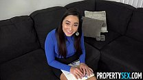 PropertySex - Curvy real estate agent fucking her new client - 9Club.Top
