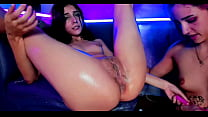 Hot princess 21 and her two lesbian friends lic...
