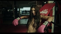 Even in a boxing ring, Alexa Tomas turns us on