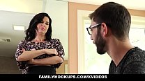 FamilyHookups - Hot Milf Teaches Stepson How To...