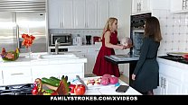 FamilyStrokes - Teen Pussy Gets Shared At Family Orgy - VideoMakeLove.Com