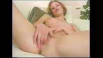 Fingering soaking wet and well sounding pussy preview image