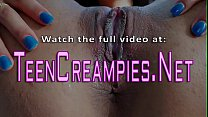 Teens Pussy Spe rm Filled