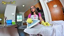 MAMACITAZ - Latina Maid Francis Restrepo Well Payed For Her Job