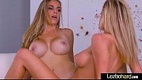 Hot Teen Lesbian Girls (Jessa Rhodes & Ryan Ryans) Show On Camera Their Love clip-18 preview image