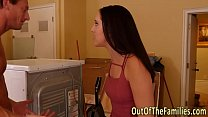 Hairy pussy stepdaughter