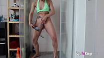 KINK FEST with Valentina Bianco. Squirting in the balcony and hard fuck with her husband!