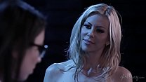 Lesbian android and her owner - Serena Blair, Alexis Fawx صورة