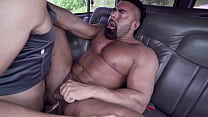 BAIT BUS   Hunk Jason Wolf Gets Baited To Fuck