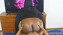 Another Corny ASF BBW Nun Roleplay Equipped With Dick Riding Action! | Clip صورة
