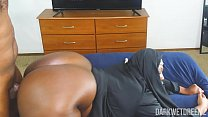 Another Corny ASF BBW Nun Roleplay Equipped With Dick Riding Action! | Clip video