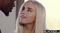 BLACKED First Interracial Threesome For Blonde Naomi Woods porn thumbnail