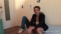 Amateur french arab milf hard analized double v...