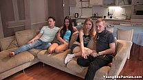 Foursome tube8 gang-bang redtube fuck Isabel Stern xvideos Aziza teen porn