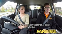 Fake Driving School little English teen gets fu...