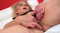 Hairy granny pussy fucked hard preview image