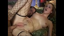 Allie Sin in fishnet anal sex Thumbnail