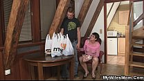 Horny Mother In Law Seduces Him