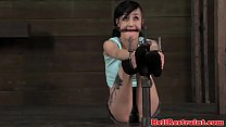 Bit gagged bondage fetish sub tied up preview image