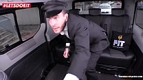 LETSDOEIT - Skinny Russian Babe Gets Drilled In Czech Taxi (Liz Heaven) Preview
