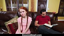 ExxxtraSmall - Pocket Sized Teen Gets Stuck and... Thumbnail
