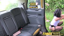 Fake Taxi Sex mad MILF loves to ride cock in London taxi thumbnail