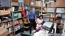 Pretty Shoplifter Kat Arina Giving Head and Pounded preview image