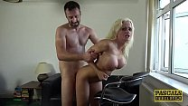 Busty British bimbo drilled hard in all of her ...'s Thumb