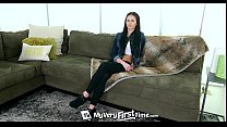 4K MyVeryFirstTime - Newbie Miley Austin wants to get fucked by black cock Image