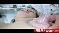 Chubby Czech blonde Candie enters gyno fetish hospital preview image