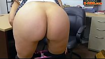 Sexy amateur brunette woman gets nailed at the pawnshop thumbnail