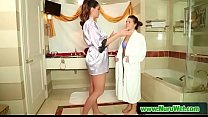 Dancers Turn (Alison Tyler & Abby Cross) video-01