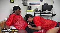 BANGBROS - Mia Khalifa Is Obsessed With Football And Big Black Cocks thumbnail